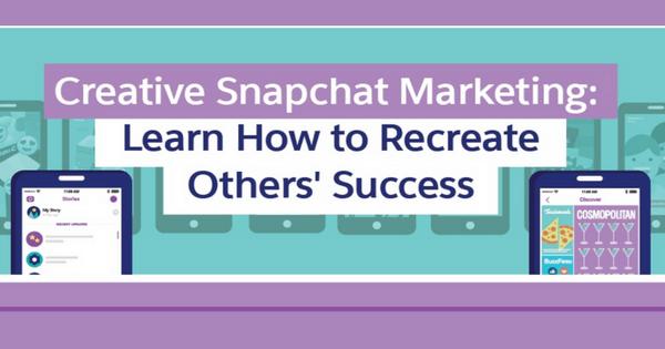 [Infographic] Creative Snapchat Marketing