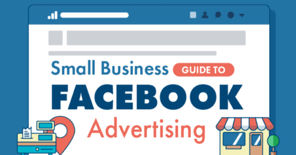 guide to facebook ads for small businesses infographic. Black Bedroom Furniture Sets. Home Design Ideas