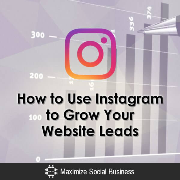 How to Use Instagram to Grow Your Website Leads