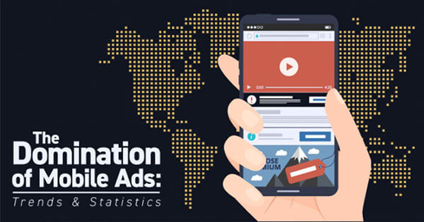 The Domination of Mobile Ads: Statistics and Trends [Infographic]