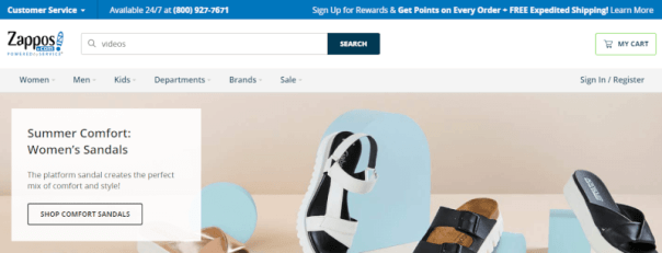 ecommerce landing page that converts