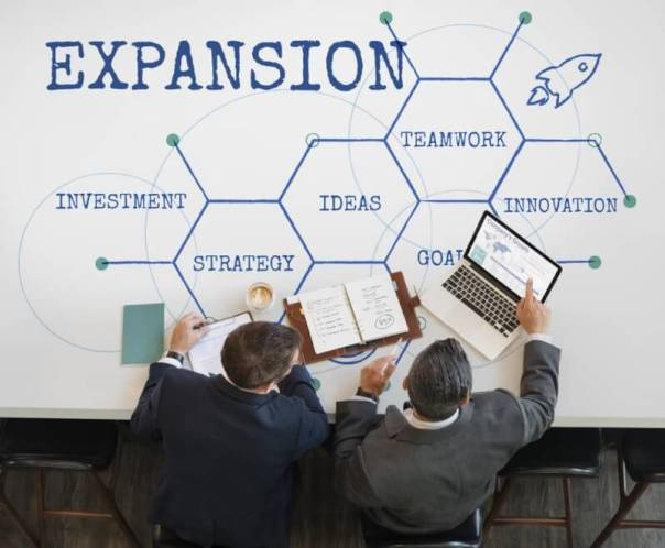 Local beginning, expansion