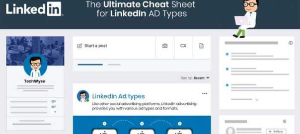 ultimate-cheatsheet-for-LinkedIn-Ad-Types