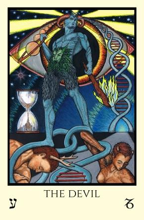 Image result for the devil tarot card tabula mundi