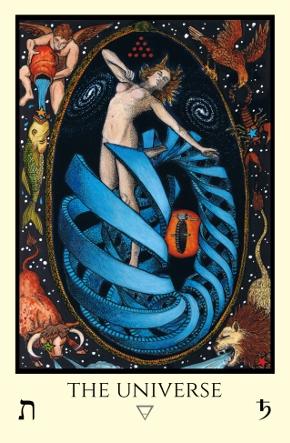 Universe Tabula Mundi Tarot color version
