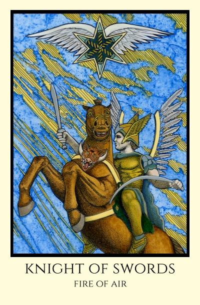 Image result for knight of swords tabula mundi