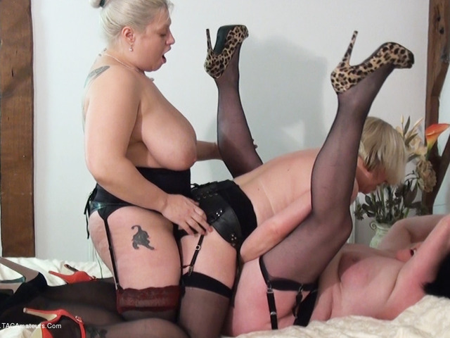 GinaGeorge - Strap On Sisters Pt2