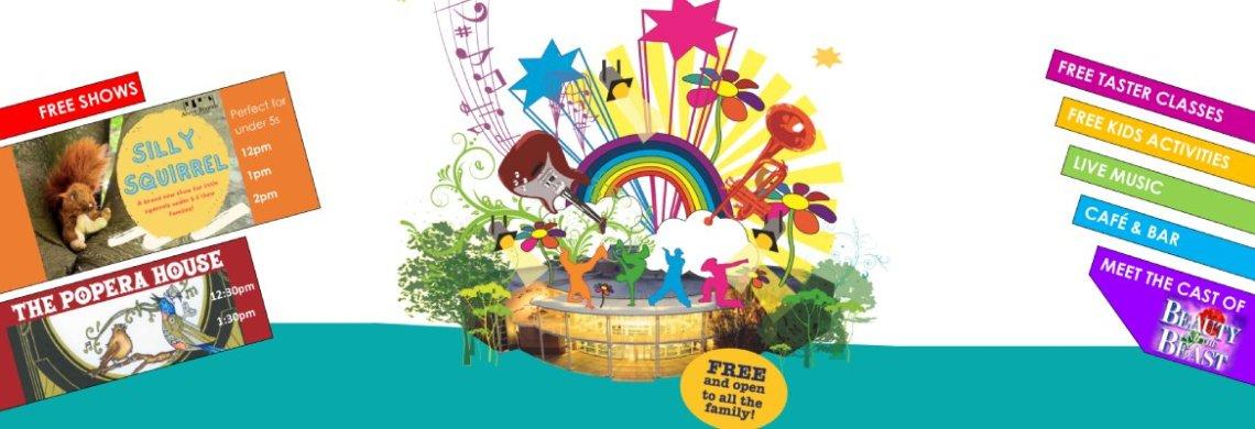 Open Day 2021 - Tacchi-Morris Arts Centre