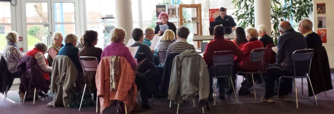 Singing For Fun - Tacchi-Morris Arts Centre
