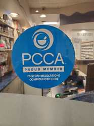 Tache Pharmacy Professional Compounding Centers of America Sticker