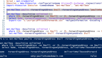 Office 365: How to add or remove an email alias using Powershell