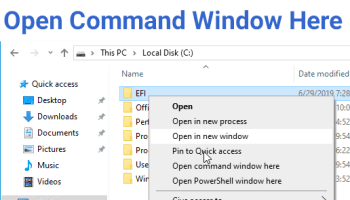 How to create a Network Connections Shortcut in Windows 10