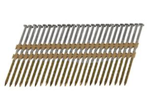 Stripnagels plastic verbonden