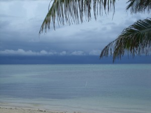 Hurricane Ida changing Weather in Belize