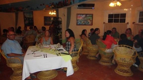 opening night of san pedro lobster festval 2013 at el divino restaurant