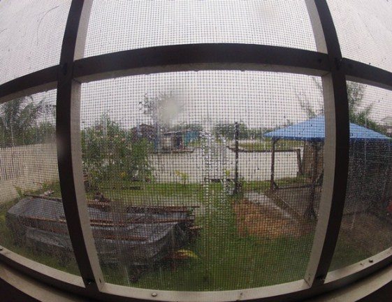 fisheye view gopro