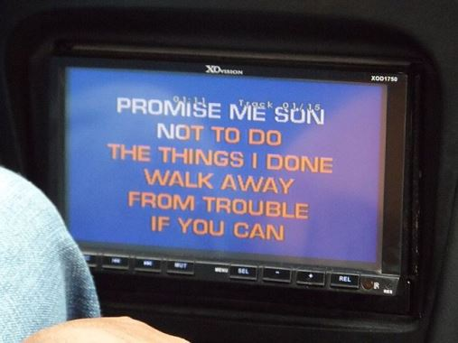 car karaoke machine
