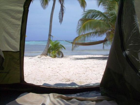 camping belize