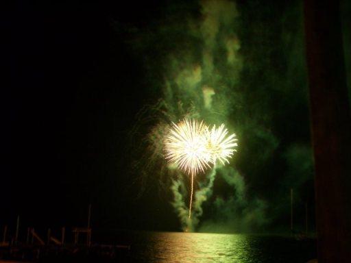 Fireworks in San Pedro Belize