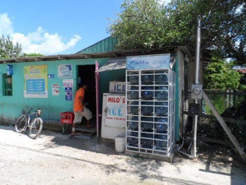 corner store in san pedro town