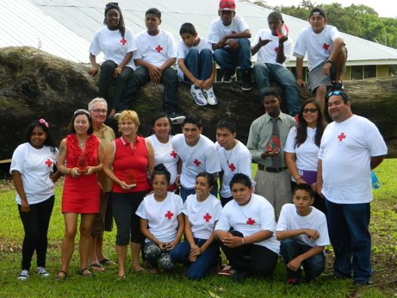 san pedro branch of the belize red cross