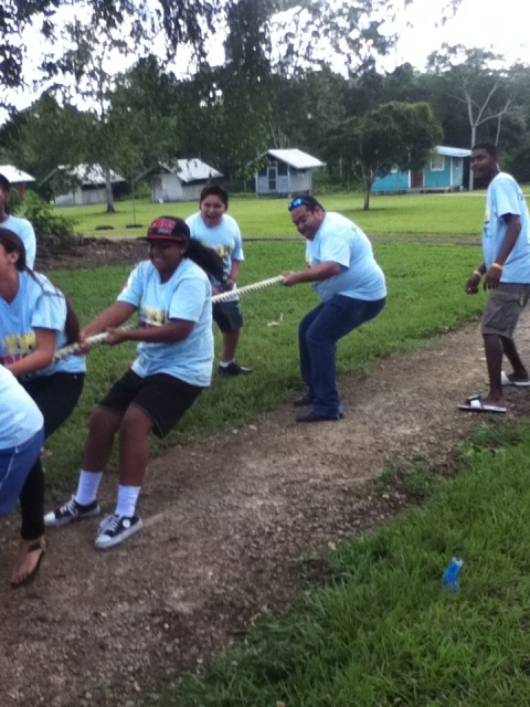 belize red cross volunteer encounter at ywam