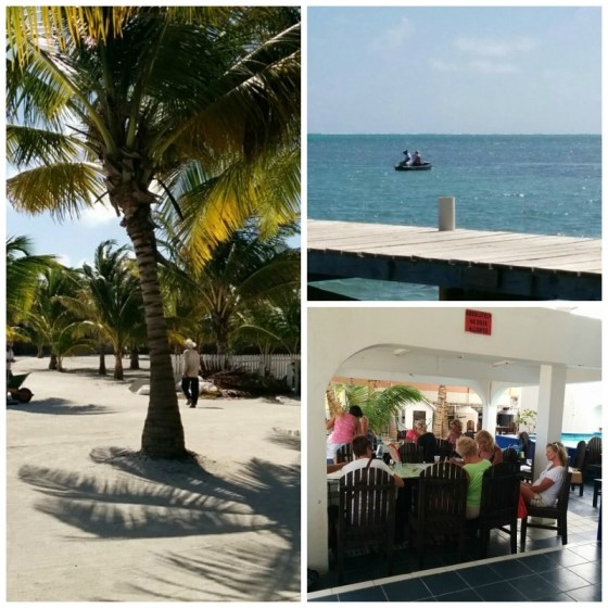 San Pedro Belize weather is lovely.
