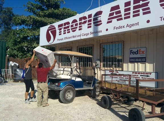 tropic air cargo san pedro belize