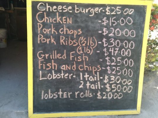 san pedro belize lobster festival 2014