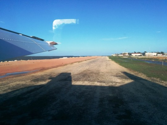 tropic air belize runway expansion project at municipal airport