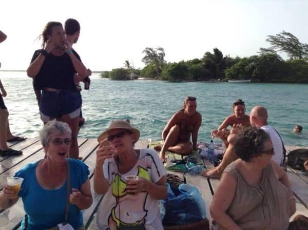 the split caye caulker island belize