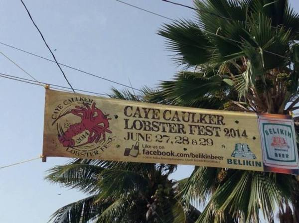 caye caulker lobster fest