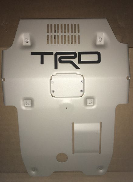 Fs 2016 2017 Tacoma Trd Skid Plate Decal Inserts Tacoma