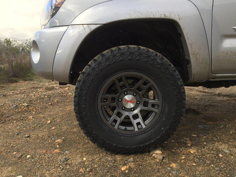 9 Tacoma Wheels 17 X