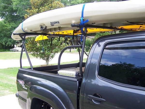 mi je organizer homemade kayak rack tacoma