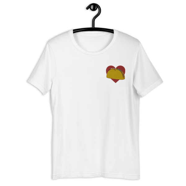 Taco Love Embroidery Tee