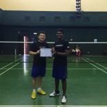 Avishka from Sri Lanka successfully completed the camp.
