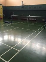 Rubberized well maintain court