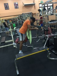 Weight training to strengthen the gluts which is very important in badminton