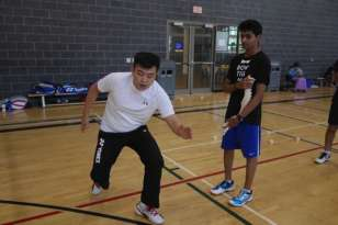 Coach Andrew Chang Coaching Camp: Brampton, Canada (2014)