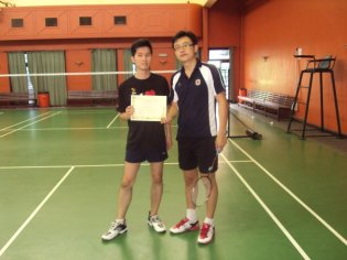 Coach Andrew with Samson from Hong Kong