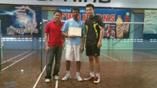 Coach Andrew with Rajiv from England