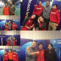 Winning State Championship in U17 Boy's Singles, U19 Boy's Doubles, Mixed, Singles and U19 Girls Doubles.