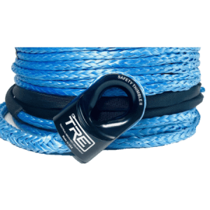"""Synthetic Winch Rope - 1/4"""", 3/8"""", 7/16"""" & 1/2"""" - Replacement Winch Cable - Many Colors Available"""