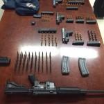 Ocupan potentes armas en Monte Hatillo