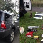 Ocupan varios vehiculos hurtados en un allanamiento en Toa Alta