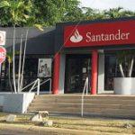Banco Santander cerró ocho sucursales