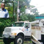 Alcalde Manso informa se va restableciendo servicio de energía eléctrica en Loíza