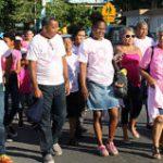 Loíza marcha en prevención del cáncer de seno