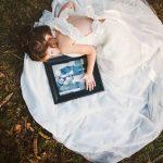 Niña recrea la boda de su madre para cumplirle su último deseo